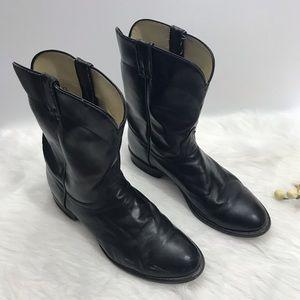Laredo Black Cowboy Boots Western